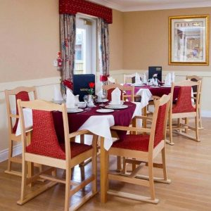 Ashbourne Care Home Dining Room